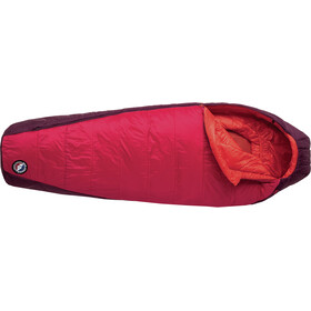 Big Agnes Sunbeam 30 Sleeping Bag Petite Women red/paprika